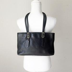 COACH LEGACY MARKET SHOPPER tote handbag bag black